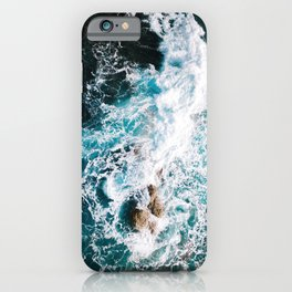 Waves and Sunshine from above – Ocean Photography iPhone Case