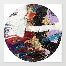 Hidden Treasure Abstract Canvas Print