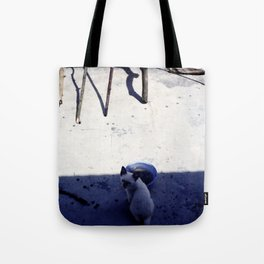 Untitled cat Tote Bag