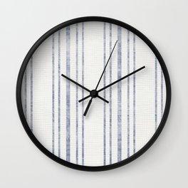 AEGEAN MULTI STRIPE Wall Clock