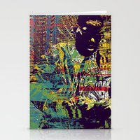 biggie Stationery Cards featuring BIGGIE by Jeremy Richie