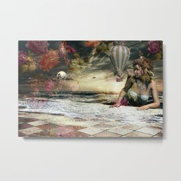 Skyfall in the Garden of Eden Metal Print