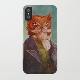 Reginald P. Hootsweete iPhone Case