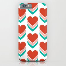 Sweethearts (Red, Pink & Turquoise) Slim Case iPhone 6s