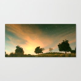 sky below ground Canvas Print