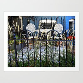 afternoon tea in DC Art Print
