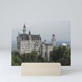 Neuschwanstein Castle (Schwangau, Germany) Mini Art Print