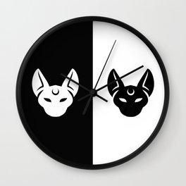 Artemis and Luna Wall Clock