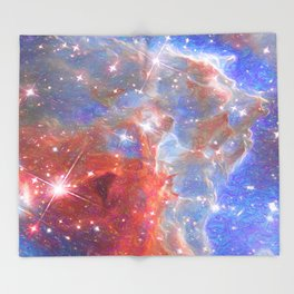 Star Factory Throw Blanket