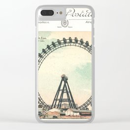 Paris Postcard #1 by Murray Bolesta Clear iPhone Case