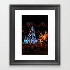 Christmas Castle I Framed Art Print