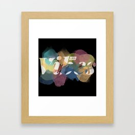 GOOD VIBES #2 Framed Art Print