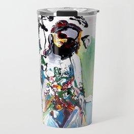Pushing Paint Travel Mug