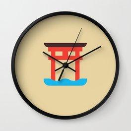 Japan Torii Wall Clock