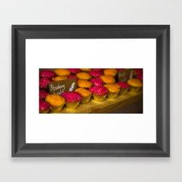 Wedding Cupcakes Framed Art Print