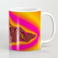 tequila Mugs featuring Tequila Sunrise by Christy Leigh