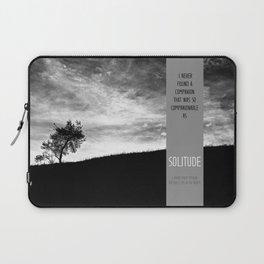 Henry David Thoreau - Solitude Laptop Sleeve