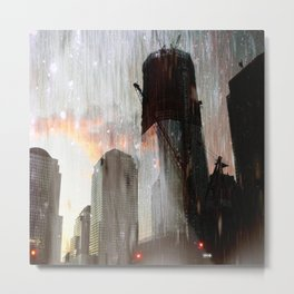 In the City Metal Print