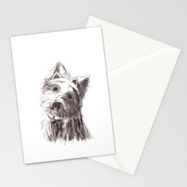 Bon Bon - the cat-like dog Stationery Cards