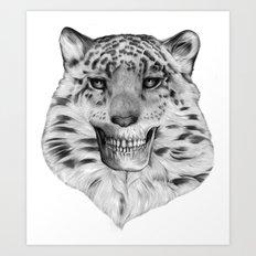 TIGERSKULL Art Print