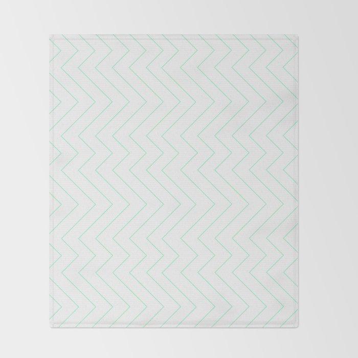 YARA ((seafoam green)) Throw Blanket