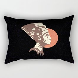 The last active ruler of the Ptolemaic Kingdom of Egypt, Cleopatra. Rectangular Pillow