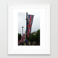patriots Framed Art Prints featuring Whitehall Patriots by PintoQuiff