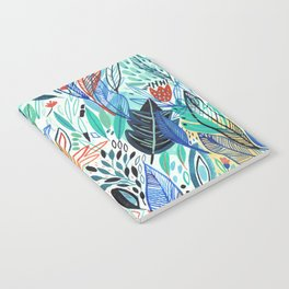 Jungle Leaves Notebook