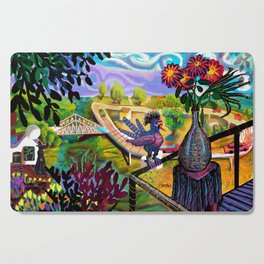 West Virginia Sea Cutting Board