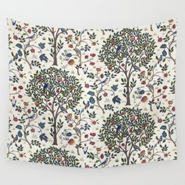 William Morris Trees and Bluebirds  Wall Tapestry