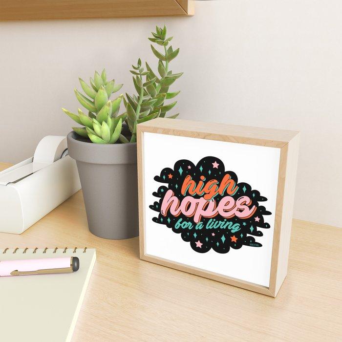 High Hopes Framed Mini Art Print