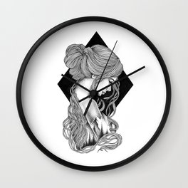HIGHER THAN THE MOUNTAINS II Wall Clock