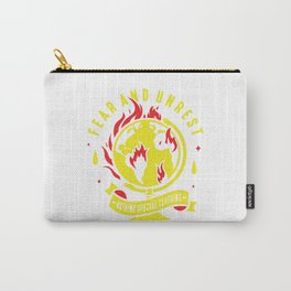 Fear and Unrest Carry-All Pouch