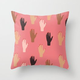 LADY FINGERS Throw Pillow
