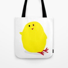 Cute Fluffy Yellow Baby Chick Tote Bag