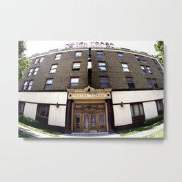 Hotel Yorba Bubble  Metal Print