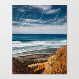 Torrey Pines San Diego Canvas Print