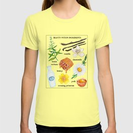 Beauty Potion Ingredients T-shirt
