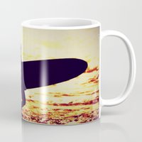 surfer Mugs featuring Surfer by  Alexia Miles photography