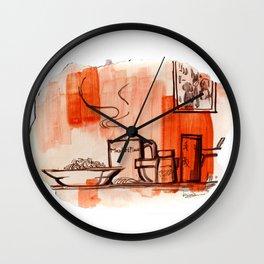 Meals Wall Clock