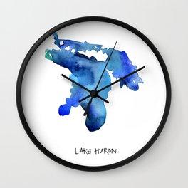 Lake Huron Wall Clock