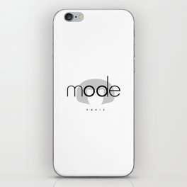 Edna Mode PARIS iPhone Skin