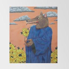 Cult Gardener Throw Blanket