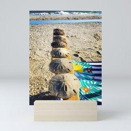 Beach Money Mini Art Print