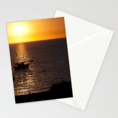 Sunset in Cyprus Stationery Cards