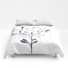 Watercolour Tree 4 Comforters