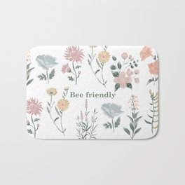 Bee friendly Bath Mat