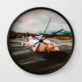 With The Flow Wall Clock