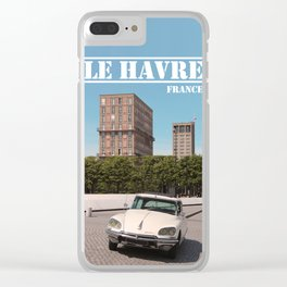 France : Le Havre 1962 Clear iPhone Case