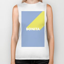 BONITA Blue Biker Tank